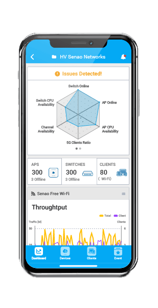 Monitor Your Networks On the Go - EnGenius Cloud