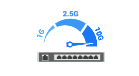 Cloud-managed Switches - capacity